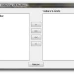 Desinstalar barras de herramientas no deseadas