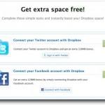 Consigue más espacio Gratis para tu Dropbox